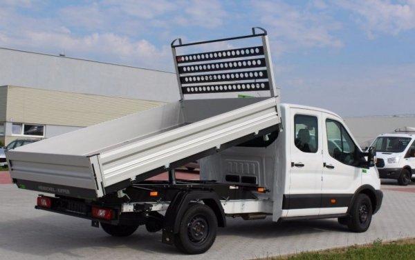 Kipper FORD TRANSIT 2014 L4 Napęd tył 3,5 t Kabina podwójna Doka Pojedyncze koło Rozstwa osi 3954 Wymiary wennętrzne 3280x2030mm