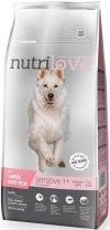 Nutrilove Premium Sensitive - z jagnięciną i ryżem 12kg