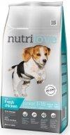 Nutrilove Premium Junior Small & Medium - ze świeżym kurczakiem 2x8kg (16kg)