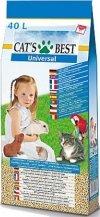 Cat's Best Universal Żwirek - Peletki niezbrylające dla kota 40l