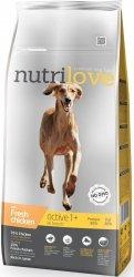 Nutrilove Premium Active - ze świeżym kurczakiem 3kg