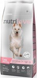 Nutrilove Premium Sensitive - z jagnięciną i ryżem 3kg