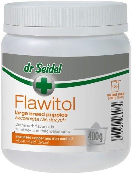Dr Seidel Flawitol dla szczeniąt dużych ras 400g