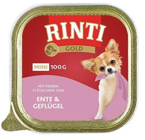 Rinti Gold Mini Kaczka z Drobiem 16x100g