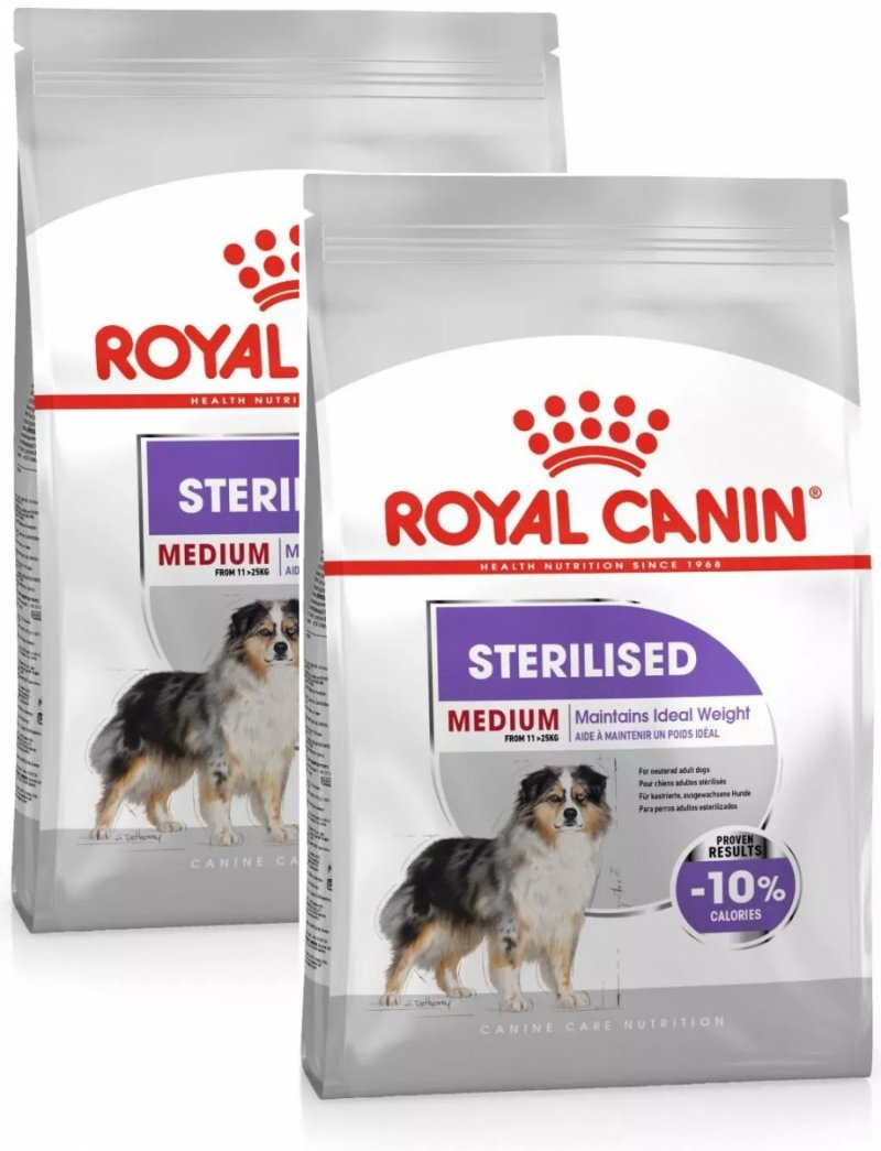 Royal Canin Medium Sterilised 2x10kg (20kg)