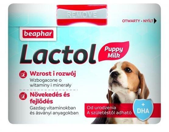 Beaphar Lactol Puppy Milk - Mleko w proszku dla szczeniąt 250g