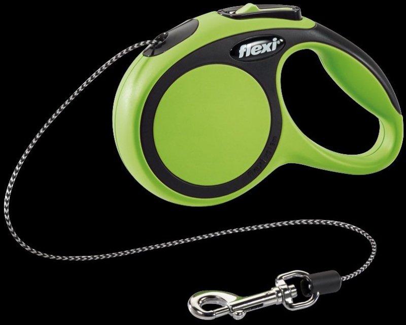 Flexi New Comfort XS linka 3m - zielona