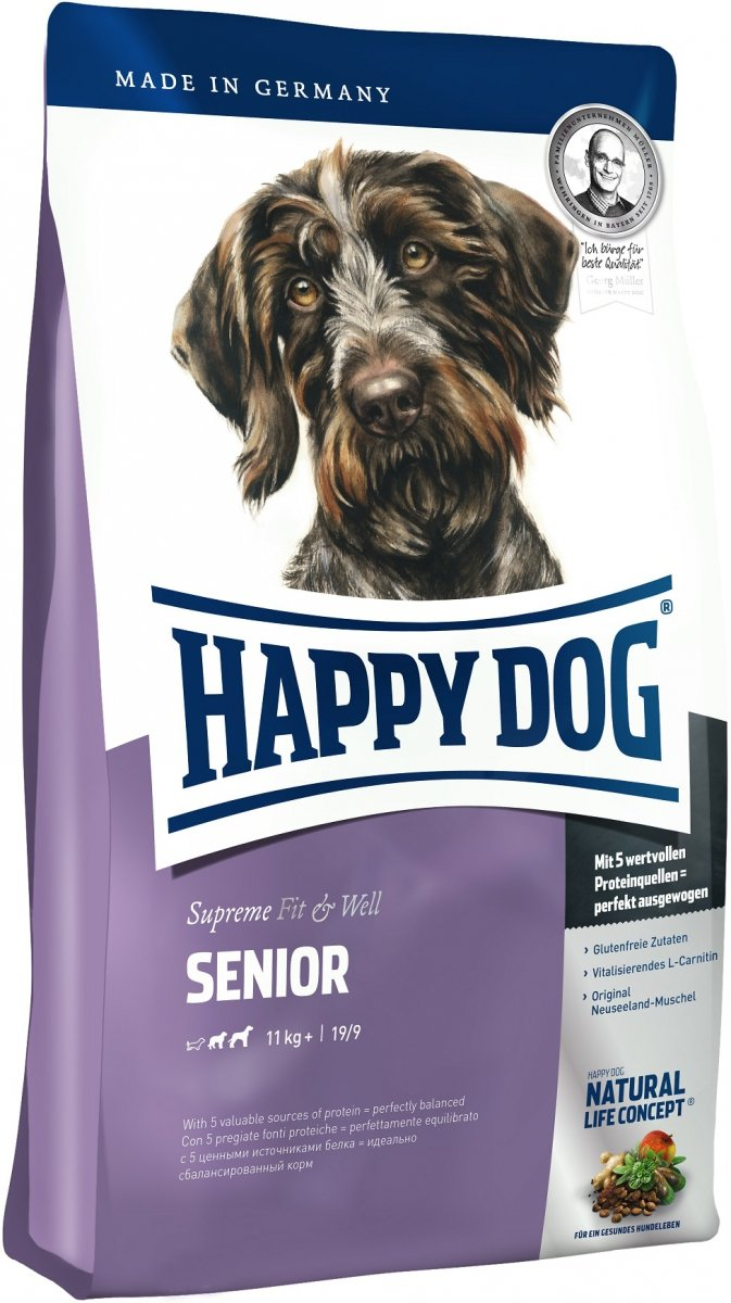 Happy Dog Supreme Fit&Well Senior 12.5kg