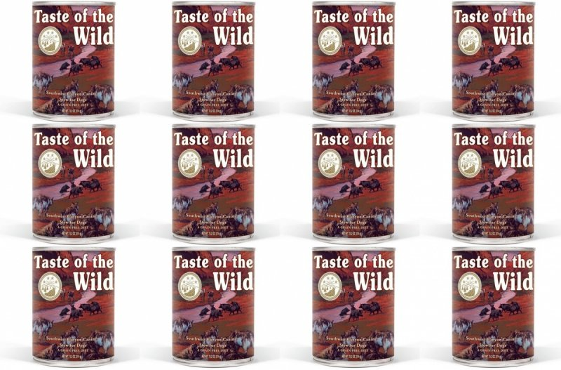 Taste of the Wild Southwest Canyon - mokra karma dla psów 12x390g