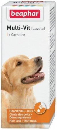 Beaphar Laveta Super Dog - preparat witaminowy przy nadmiernym wypadaniu sierści 50ml