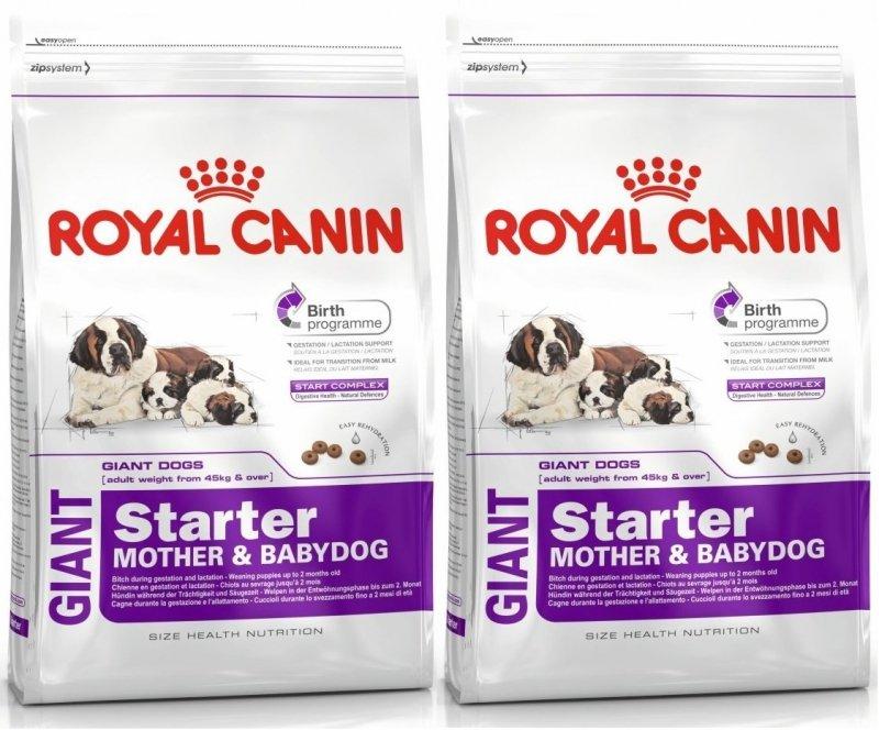 Royal Canin Giant Starter Mother & Babydog 2x15kg (30kg)