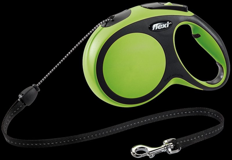 Flexi New Comfort M linka 8m - zielona