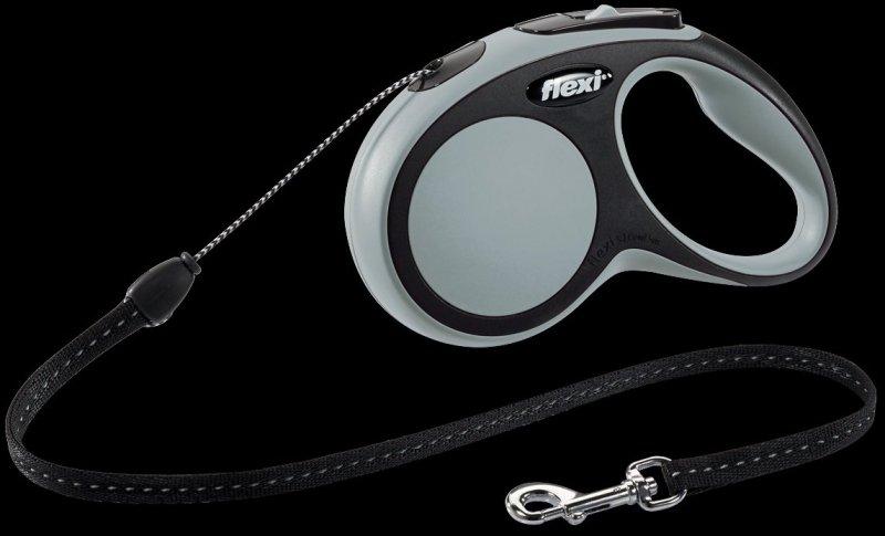 Flexi New Comfort S linka 5m - szara
