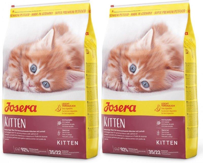 Josera Kitten karma dla kociąt 2x10kg (20kg)