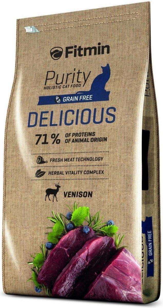 Fitmin Purity Delicious - karma z dziczyzną dla kotów wybrednych 1,5kg