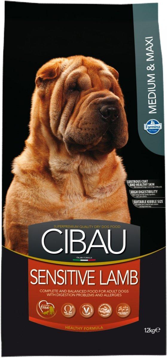 Cibau Sensitive Lamb Medium maxi 12kg
