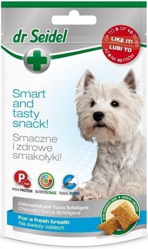 Dr Seidel Smakołyki na świeży oddech dla psów 90g