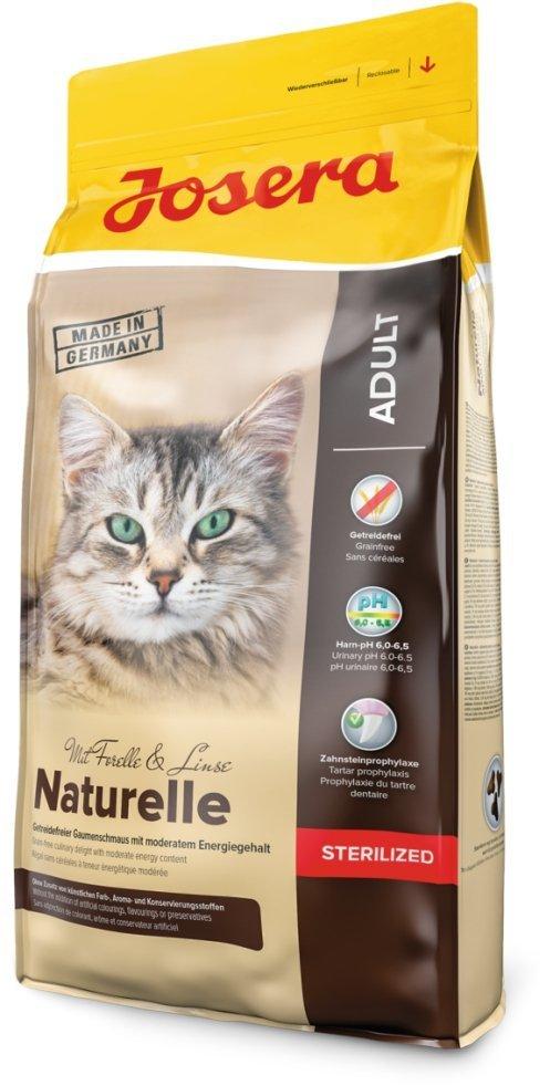 Josera Naturelle Sterilized - dla kotów po sterylizacji 2kg