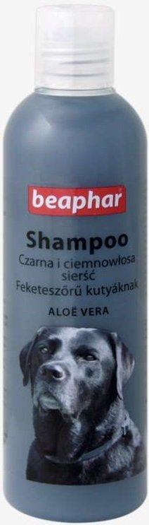 Beaphar Szampon Aloesowy dla psów o sierści czarnej i ciemnej 250ml