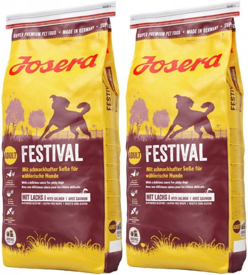 Josera Festival  dla wybrednych psów 2x15kg (30kg)