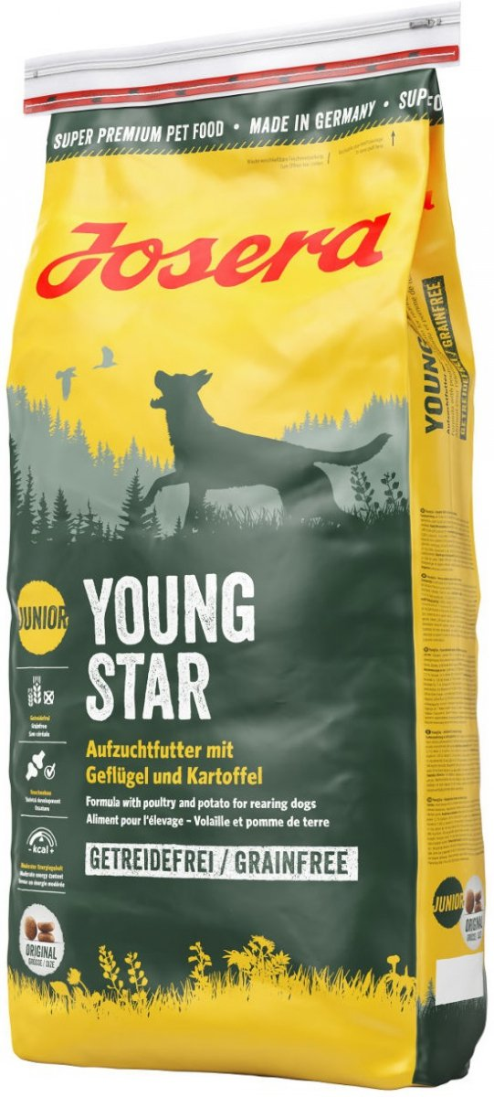 Josera YoungStar - karma od 8 tygonia 15kg