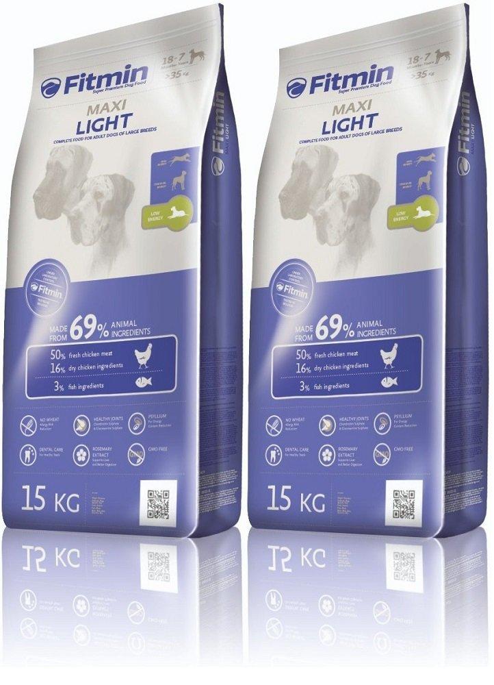 Fitmin Program Maxi Light - karma dla psów dużych ras z obniżoną zawartością energii 2x15kg (30kg)