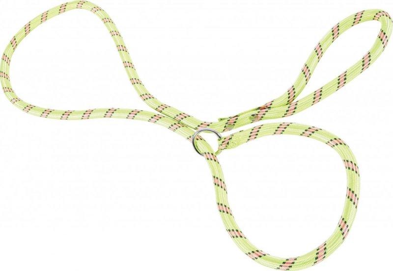 Zolux Smycz nylonowa z obrożą - seledynowa - sznur lasso 1,8m