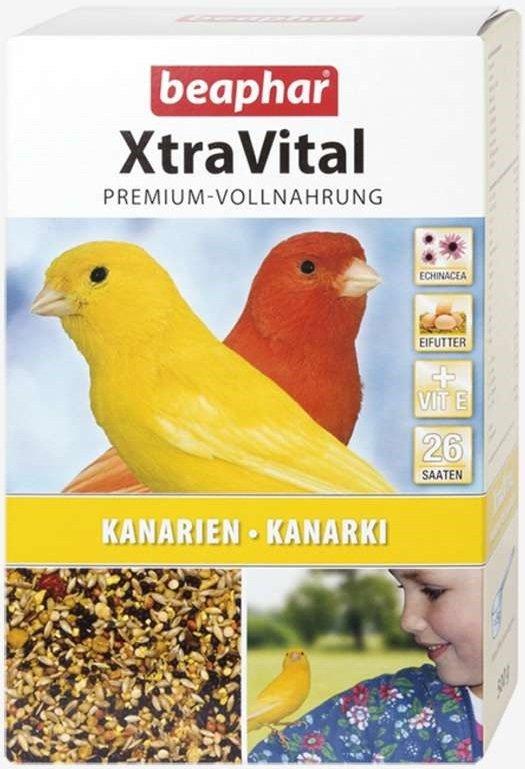 Beaphar XtraVital Kanarki - karma premium dla kanarków 500g