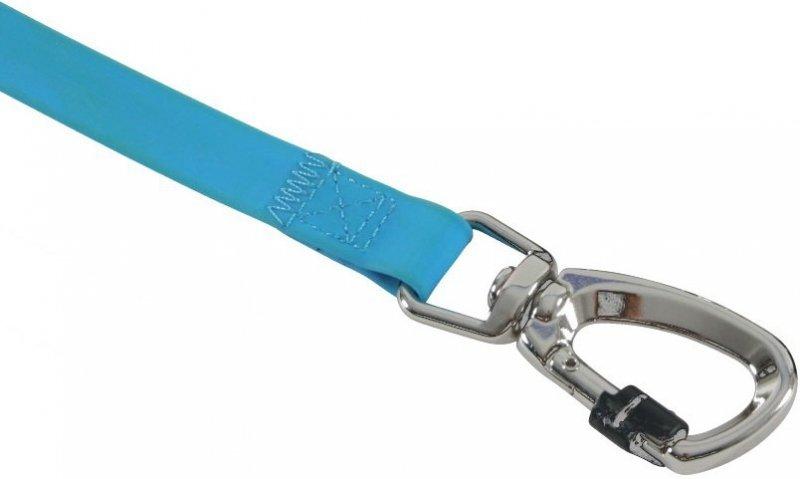 Zolux Smycz silikonowa - niebieska 1,2m/20mm