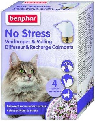 Beaphar No Stress Calming Diffuser Cat - aromatyzer behawioralny 30ml