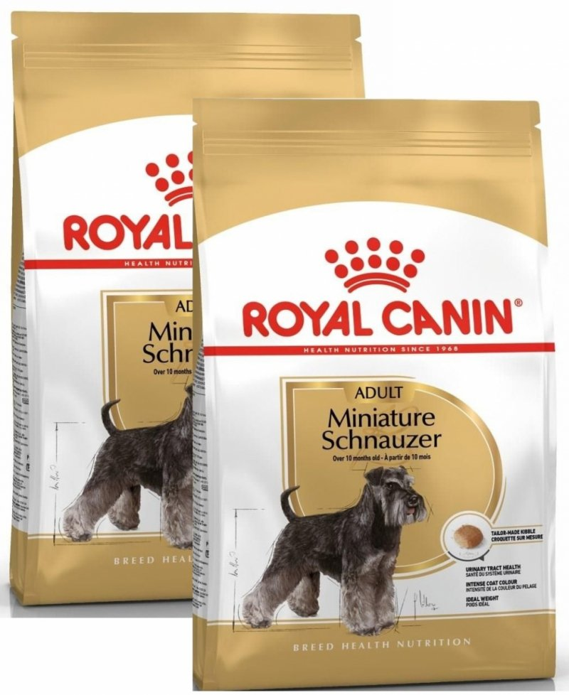 Royal Canin  Miniature Schnauzer Adult 2x7,5kg (15kg)