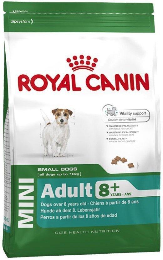 Royal Canin Mini Adult 8+ (powyżej 8 roku życia) 800g