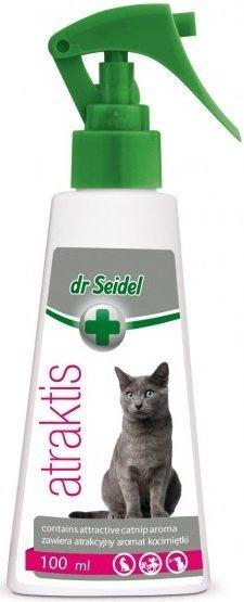 Dr Seidel Atraktis - kocimiętka dla kotów 100ml