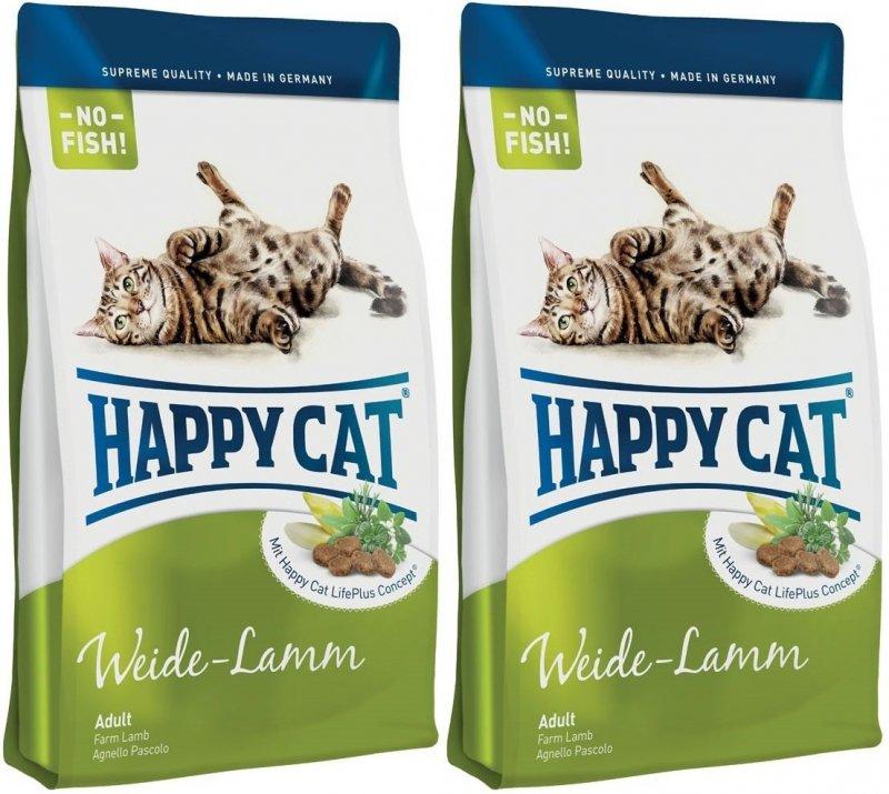 Happy Cat Adult Weide-Lamm - jagnięcina 2x10kg