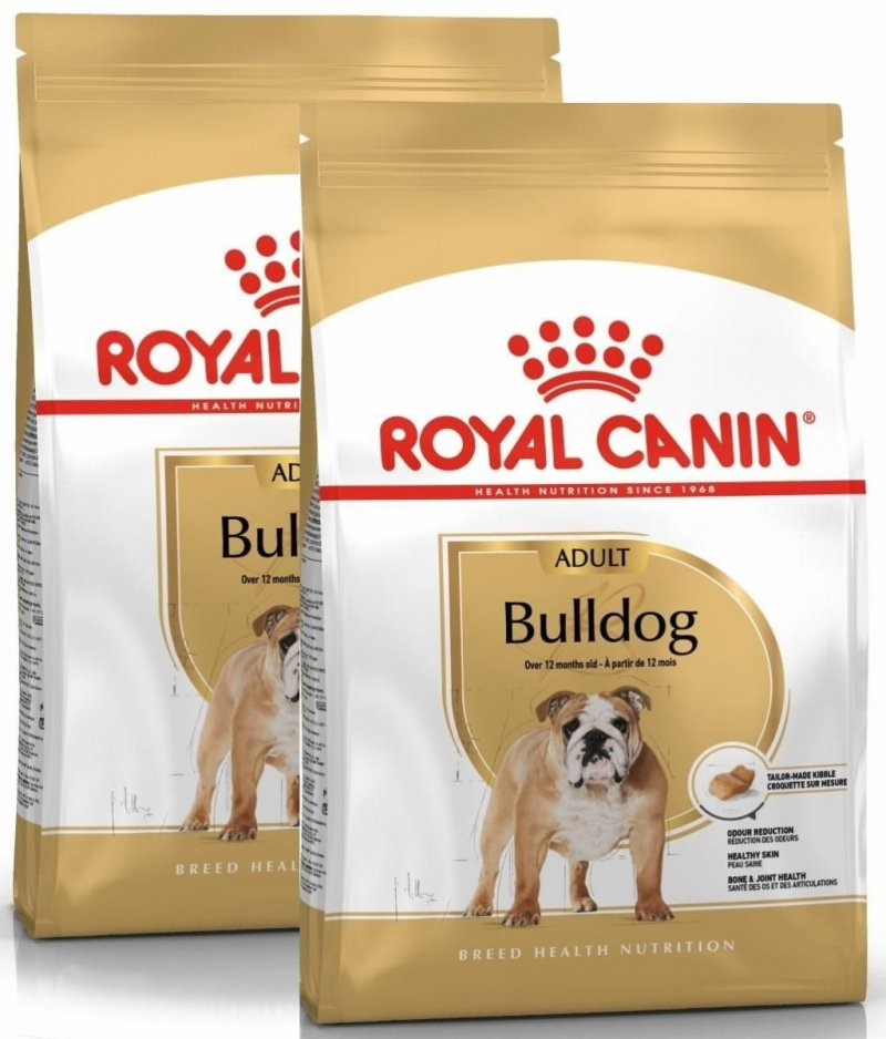 Royal Canin Bulldog Adult 2x12kg (24kg)
