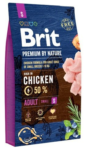 Brit Premium By Nature Small Adult S 8kg