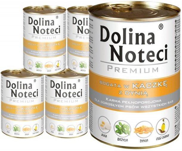 Dolina Noteci Premium Bogata w kaczkę z dynią 12x400g