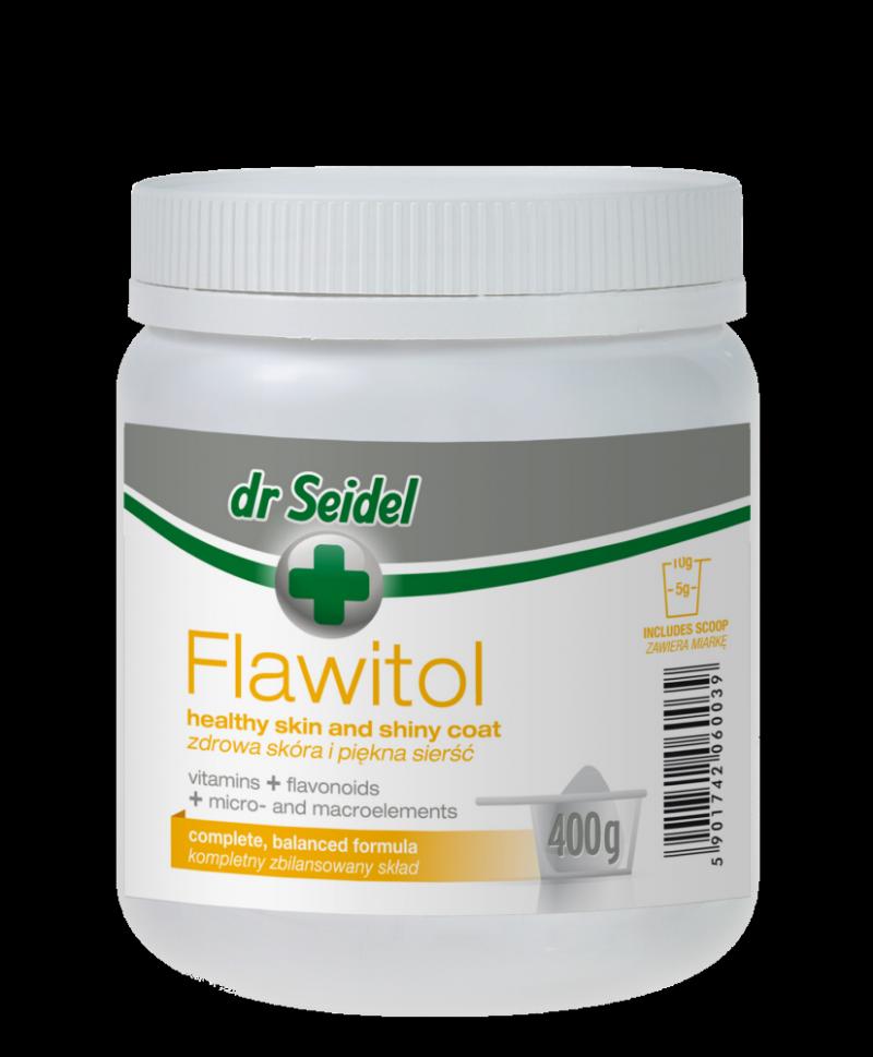 Dr Seidel Flawitol Zdrowa skóra i sierść 400g