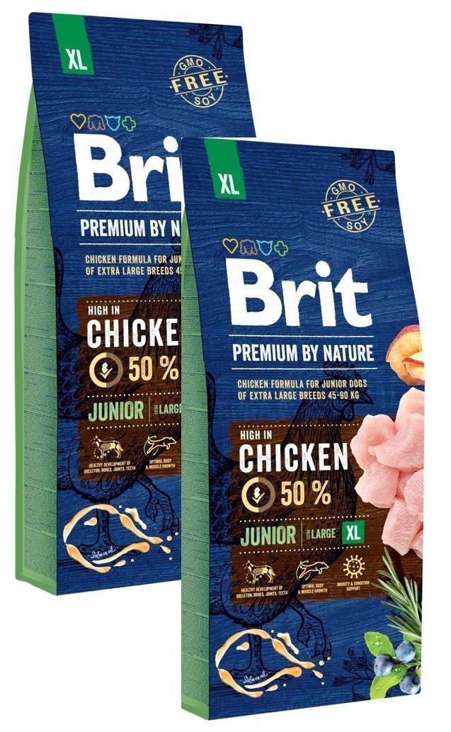 Brit Premium By Nature Junior XL 2x15kg