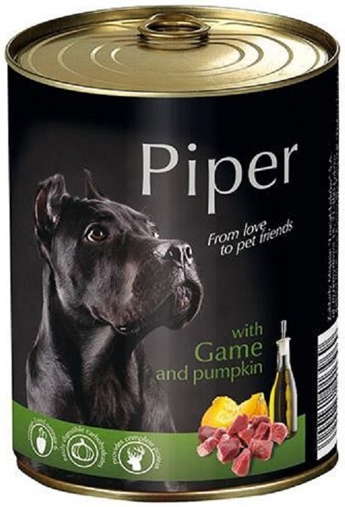 Piper z dziczyzną i dynią 24x400g