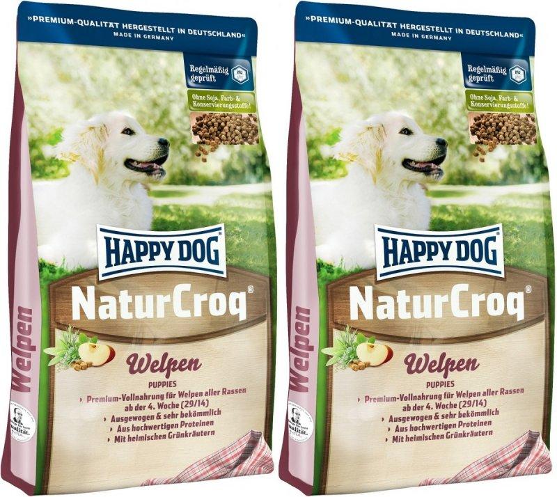 Happy Dog NaturCroq Welpen 2x15kg (30kg)