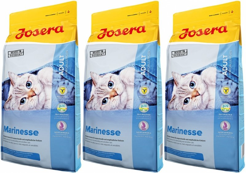Josera Marinesse z rybą dla kotów 3x10kg (30kg)