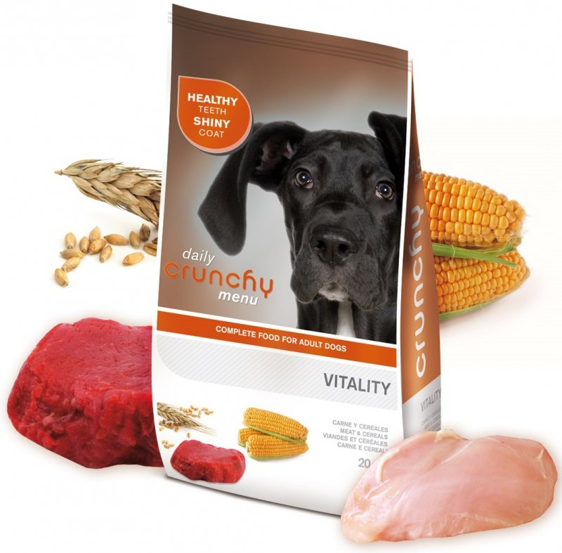Crunchy Dog Menu Vitality Energy 20kg