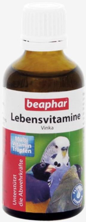 Beaphar Vinka - preparat witaminowy dla ptaków 50ml