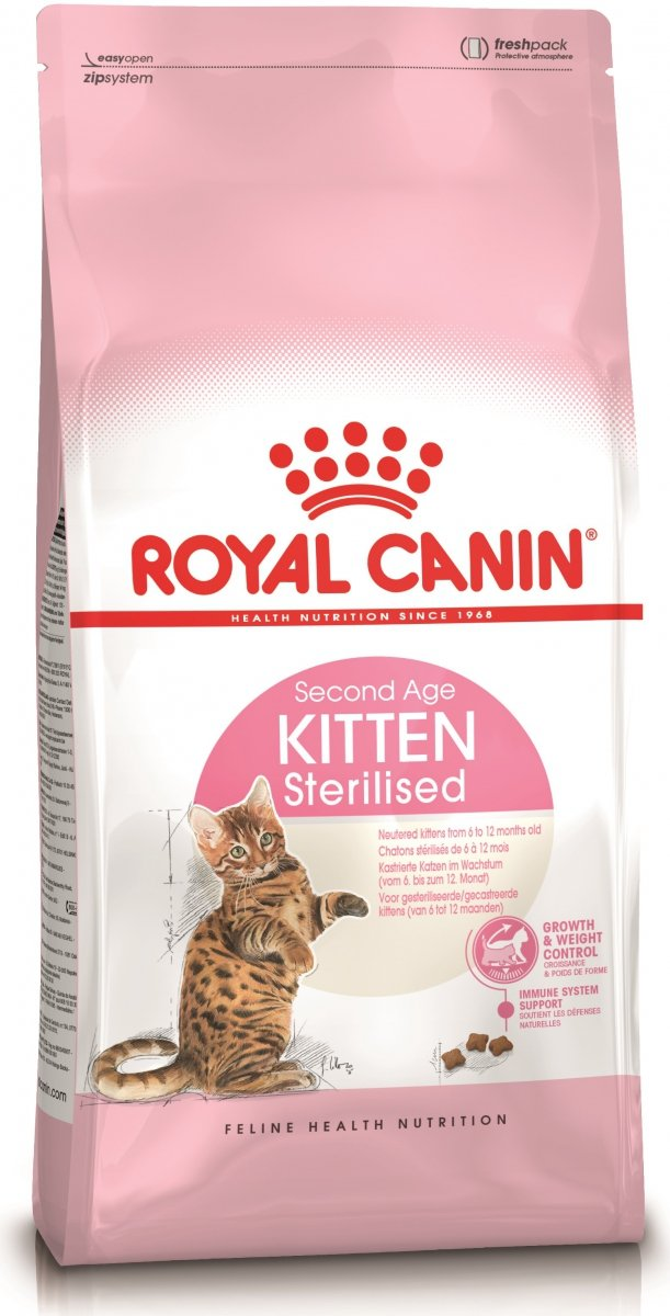 Royal Canin Kitten Sterilised Second Age 2kg