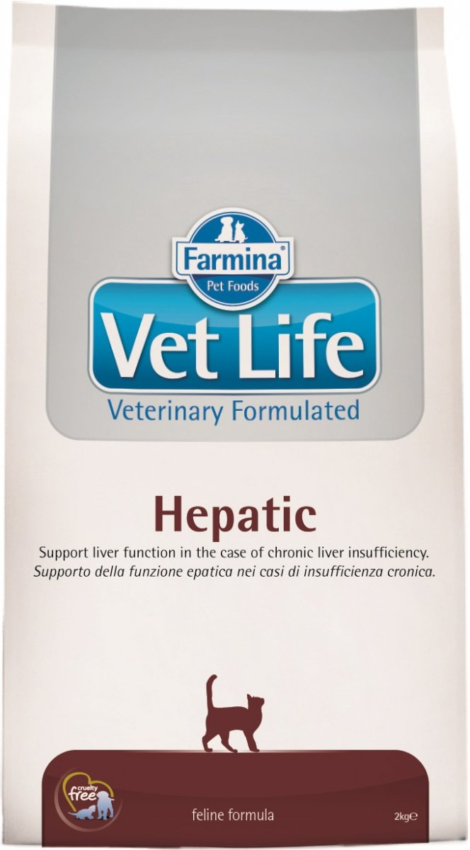 Vet Life Cat Hepatic 2kg
