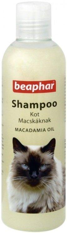 Beaphar Szampon dla kota z olejkiem makadamia 250ml