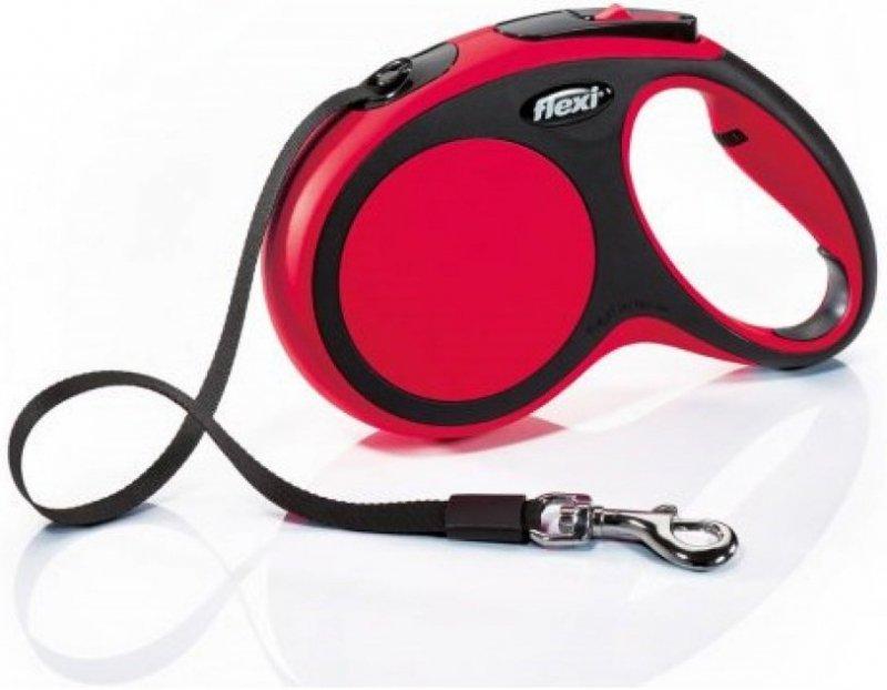 Flexi New Comfort XS taśma 3m - czerwona