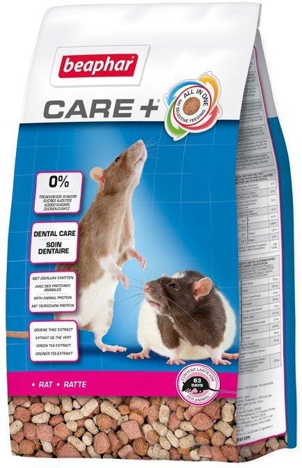 Beaphar Care+ Rat - karma super premium dla szczura 250g