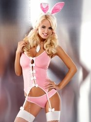 Komplet Obsessive Bunny suit S-2XL